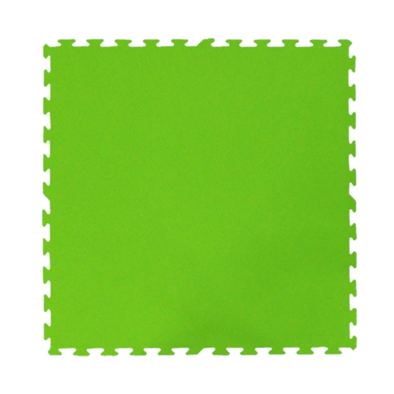 Tatame de Borracha EVA 100x100 cm Verde - Ibel