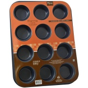 Forma Antiaderente para 12 Cupcakes Retangular 35x27 cm - Rio de Ouro