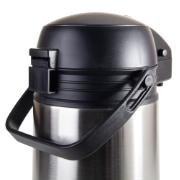 Garrafa Térmica Basic Airpot de Aço Inox 1L TP 6542 - Marcamix