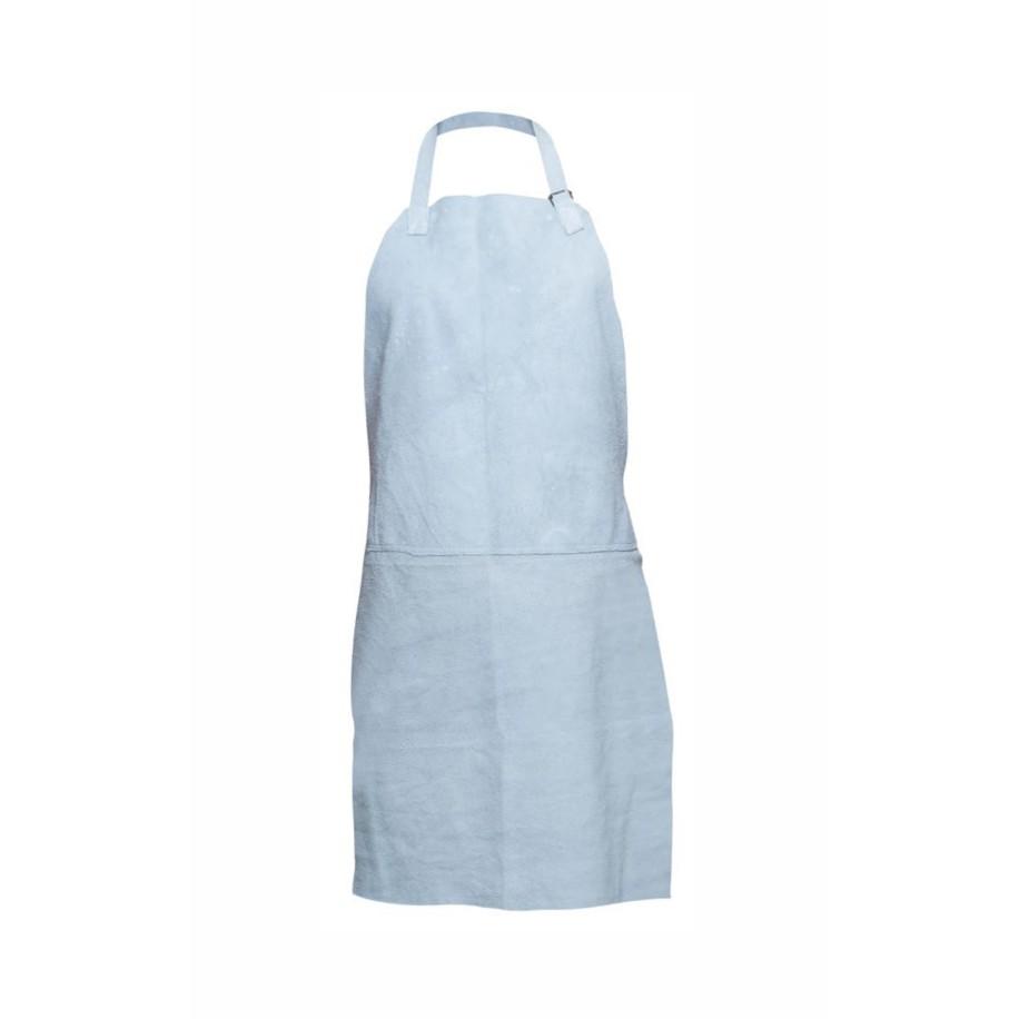 Avental de Couro com Emenda Ajustavel 100 cm Branco 625 - Cabritos