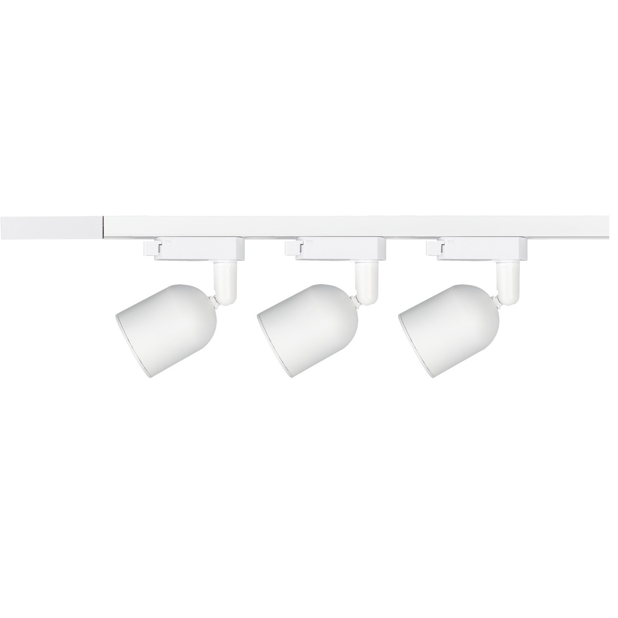 Kit Trilho Spot LED de Sobrepor com 3 Lampadas Branco 7w 110-240V Luz Amarela - Avant