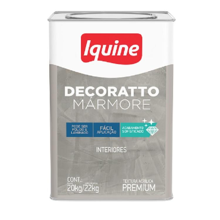 Textura Decoratto de Marmore Cimento Queimado 22kg - Iquine