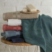 Toalha de Banho Color 100% Algodão 70x135 cm Amarela - Artex