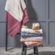 Toalha de Banho Artex Comfort 100% Algodão 86x150 cm Rosê
