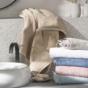 Toalha de Banho Artex Le Bain 100% Algodão 70x140 cm Branca