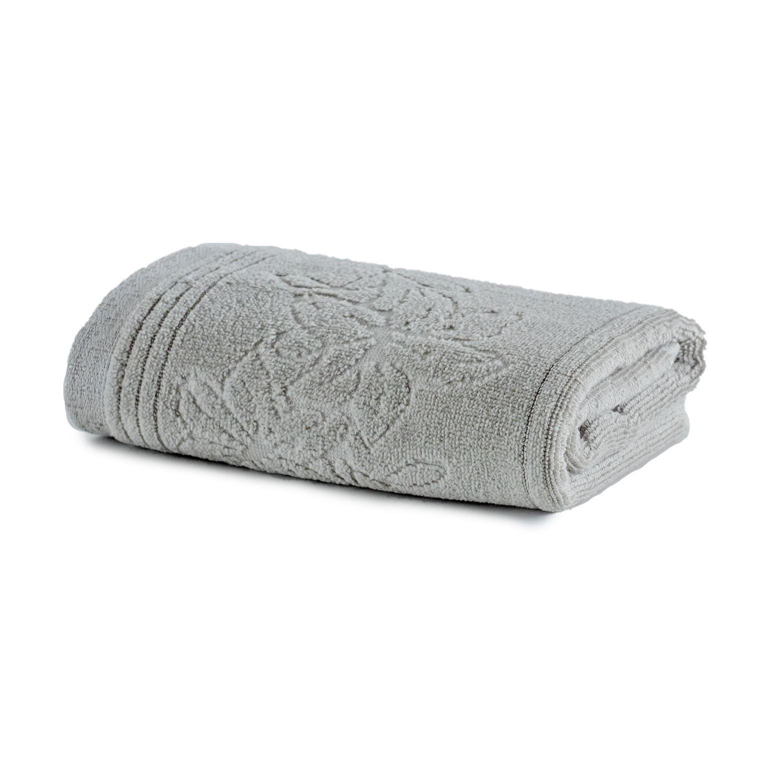 Toalha de Banho Artex Le Bain 100 Algodao 70x140 cm Cinza Claro