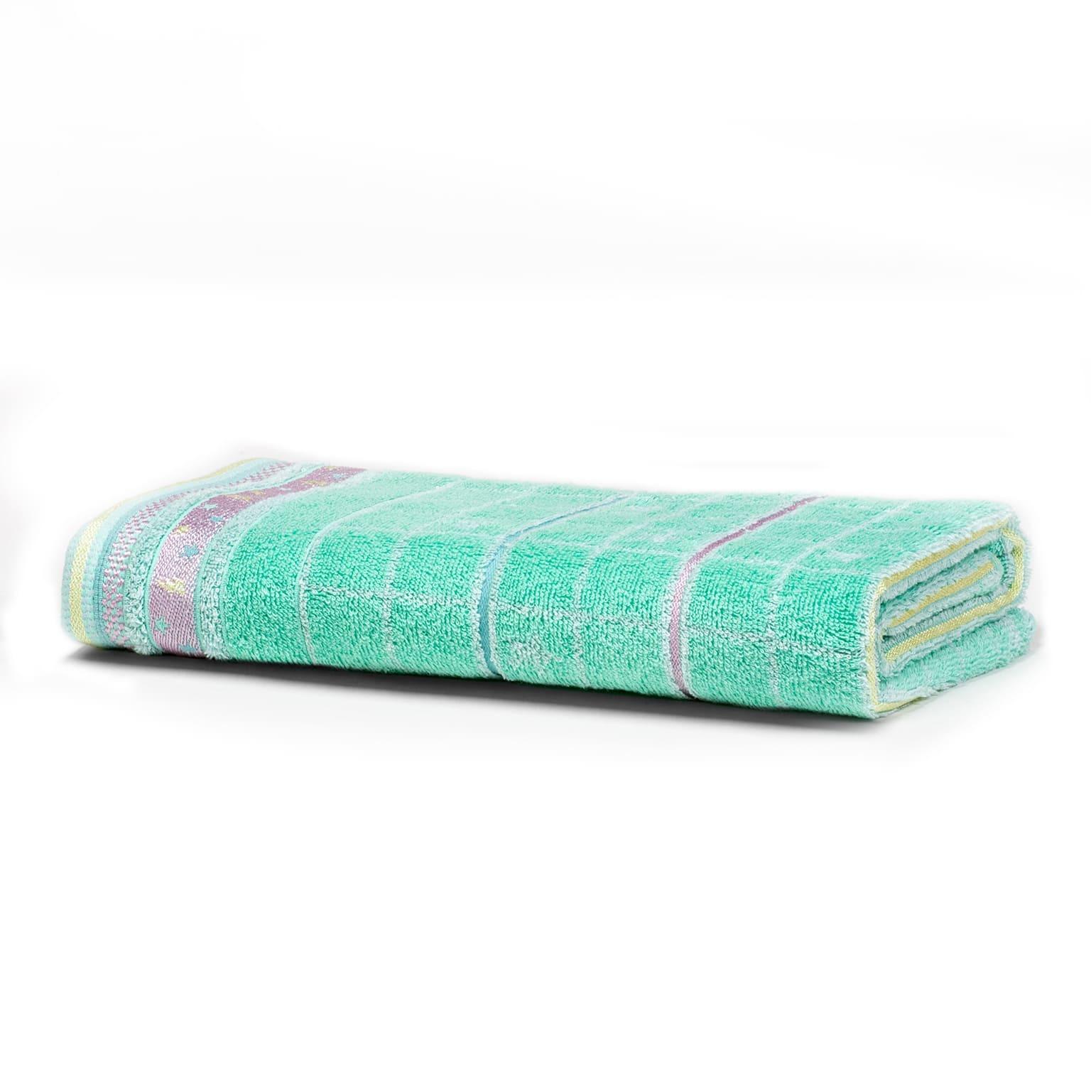 Toalha de Banho Artex Infantil 100 Algodao 70x135 cm Menta
