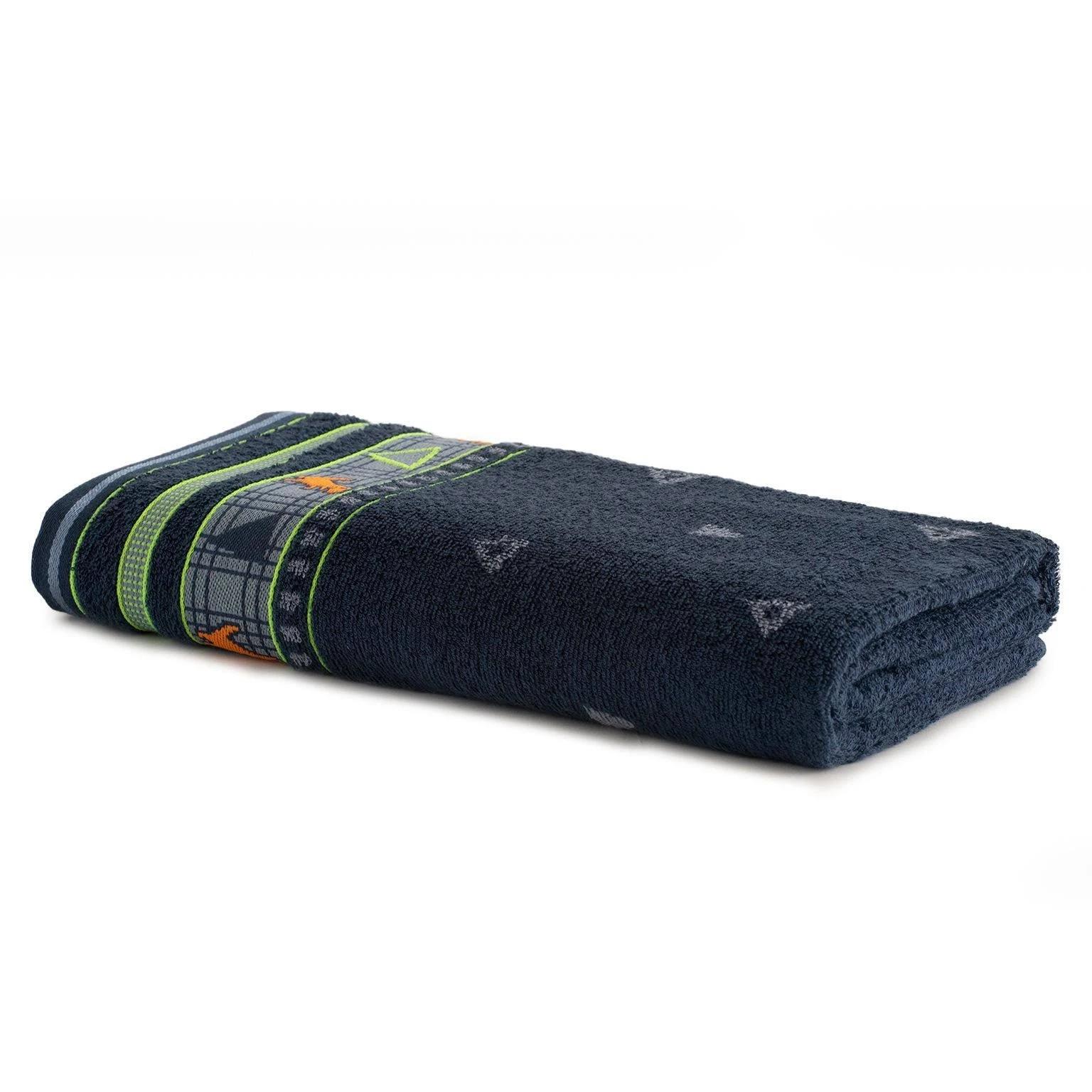 Toalha de Banho Artex Infantil 100 Algodao 70x135 cm Jeans