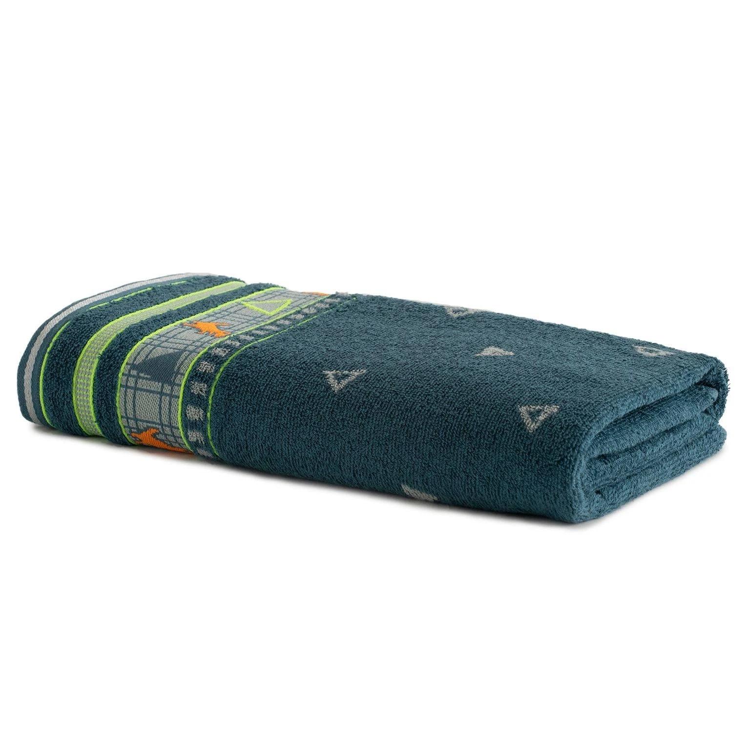 Toalha de Banho Artex Infantil 100 Algodao 70x135 cm Cobalto