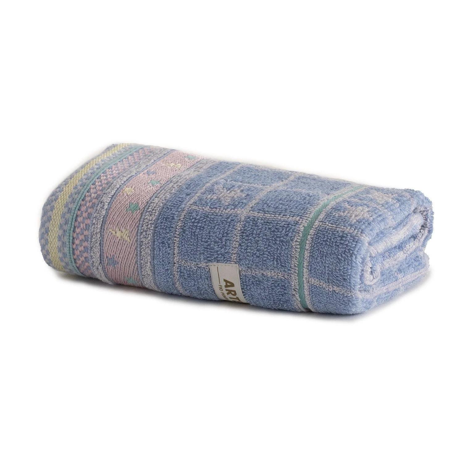 Toalha De Rosto 100 Algodao 41x70 cm Azul Violeta - Artex