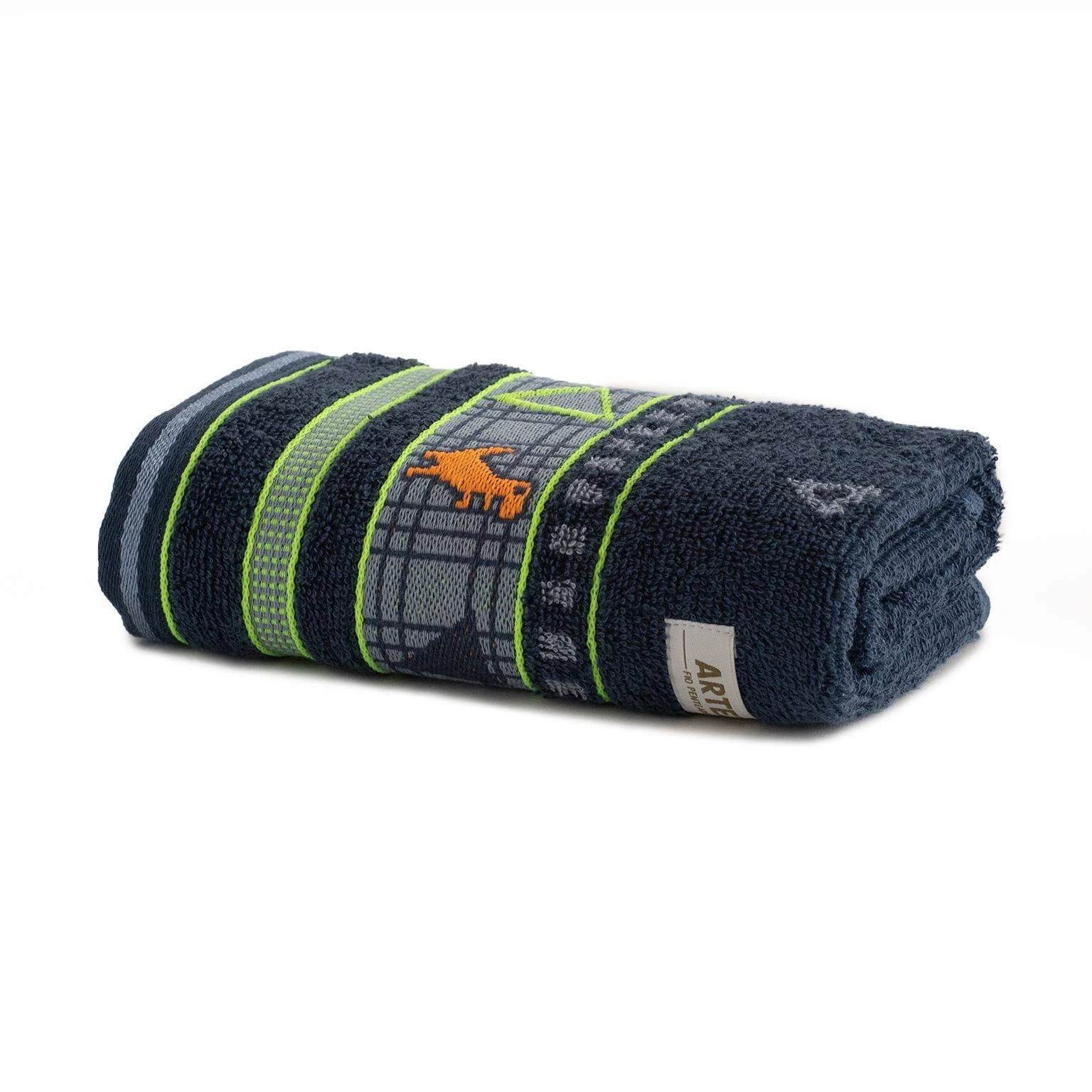 Toalha De Rosto 100 Algodao 41x70 cm Jeans - Artex