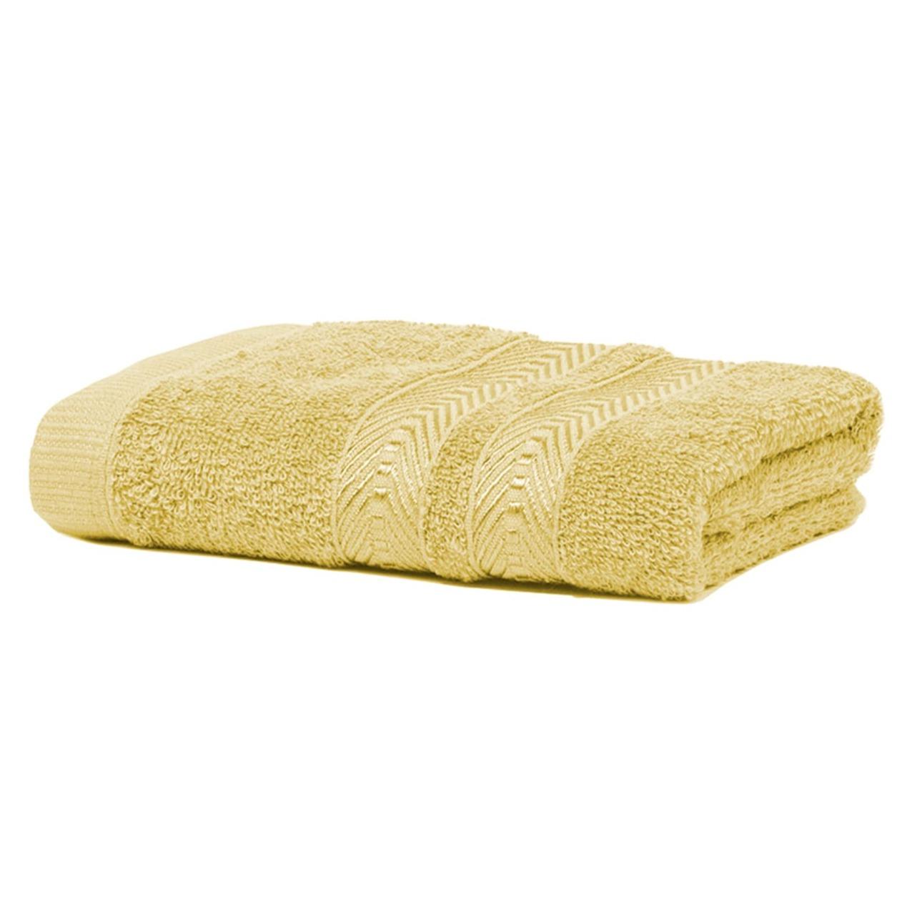 Toalha De Rosto Color 100 Algodao 41 X 70 Cm Amarelo - Artex