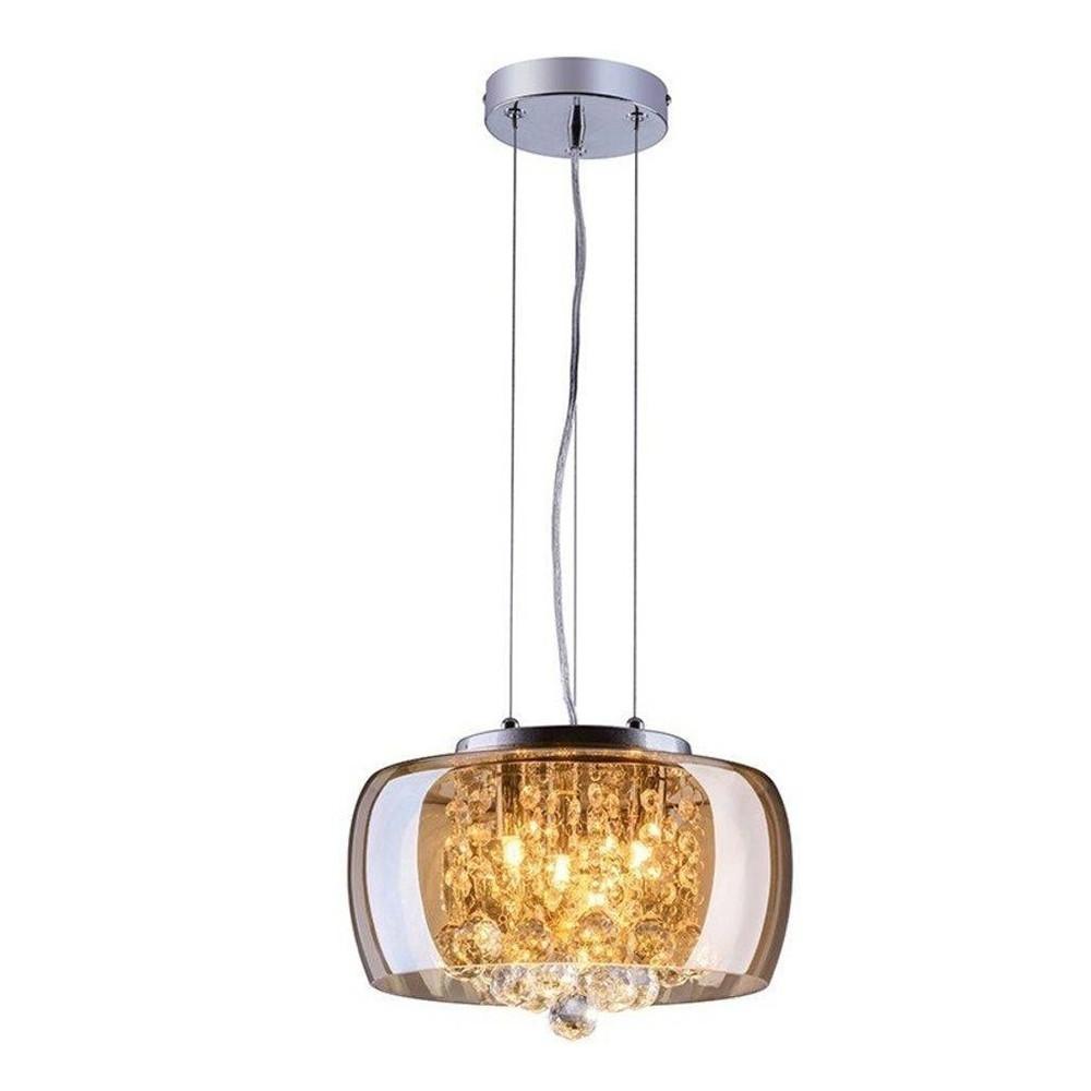 Lustre para Teto para 3 Lampadas G9 28x15 cm Ambar LT-004A - Nitrolux