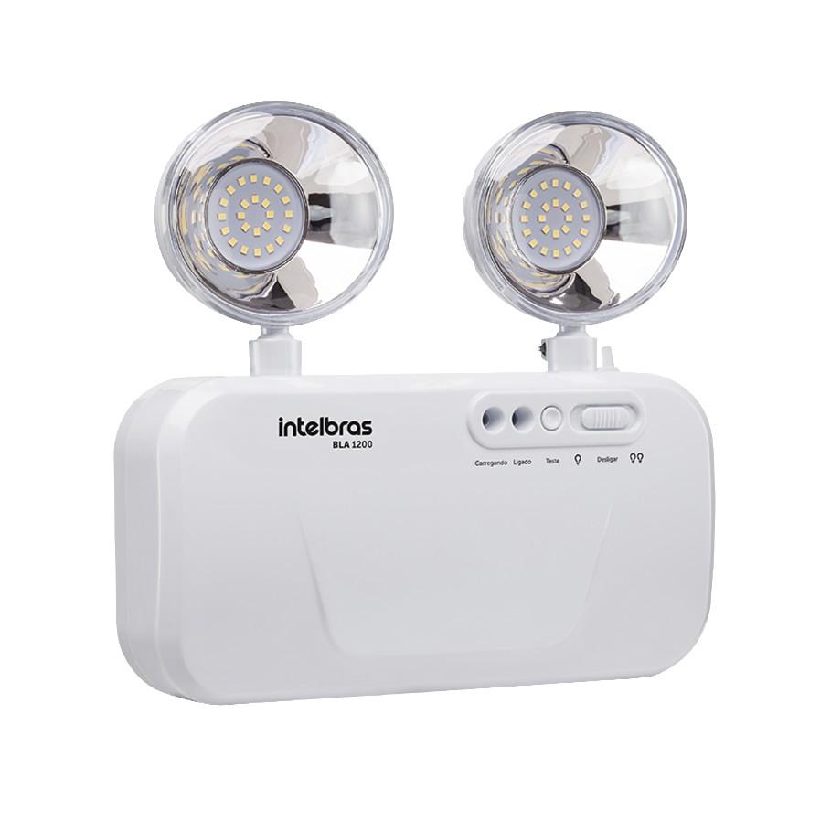 Bloco de Iluminacao de Emergencia Intelbras LED Integrado - BLA 1200 4631200
