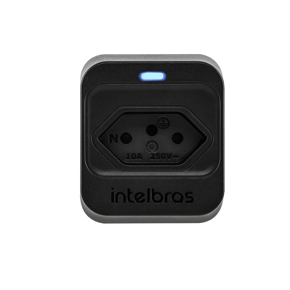 Dispositivo de Protecao contra Surto Eletrico DPS Classe III 10Ka 1 Tomada EPS 301 Preto - Intelbras