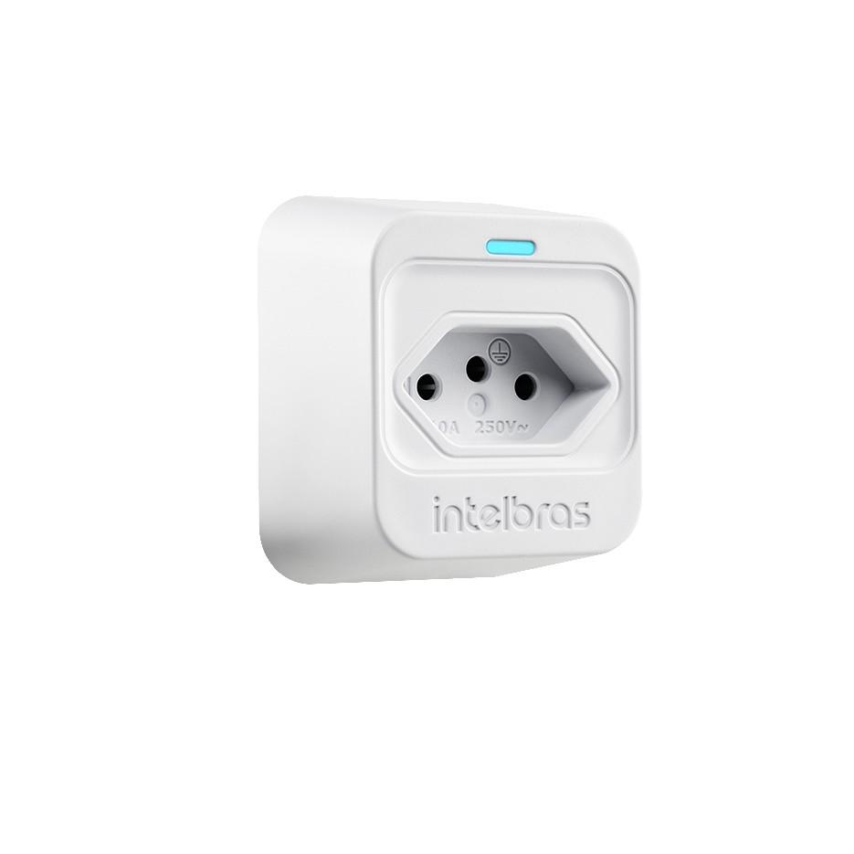 Dispositivo de Protecao contra Surto Eletrico DPS Classe III 10Ka 1 Tomada EPS 301 Branco - Intelbras