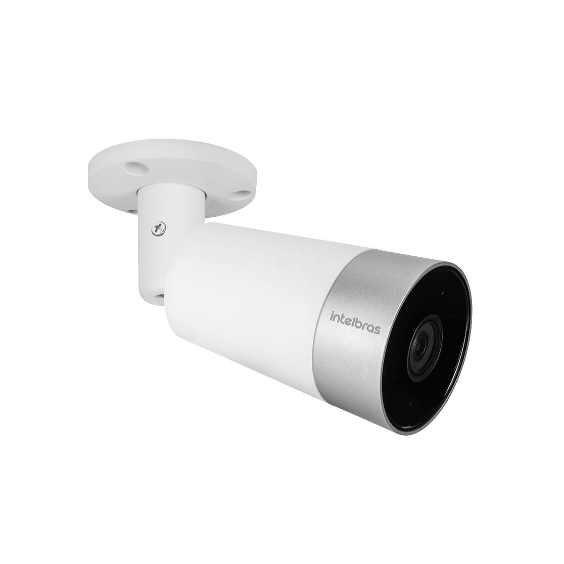 Camera de Seguranca Smart Intelbras Wifi Full HD Alexa e Google Assistente IP67 IM5 Branca
