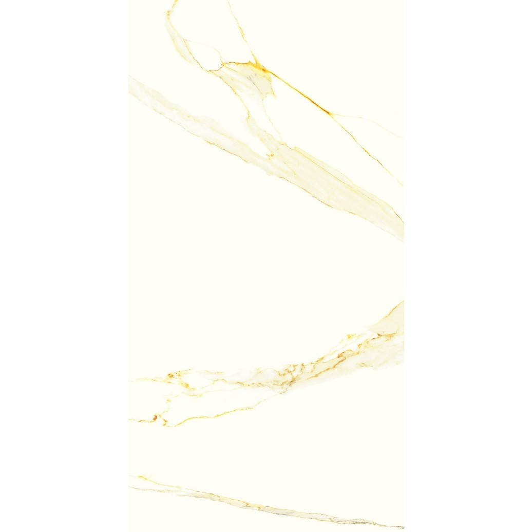 Porcelanato Tipo A 60x120 cm Calacta Gold Esmaltado Polido 144m - Platinum