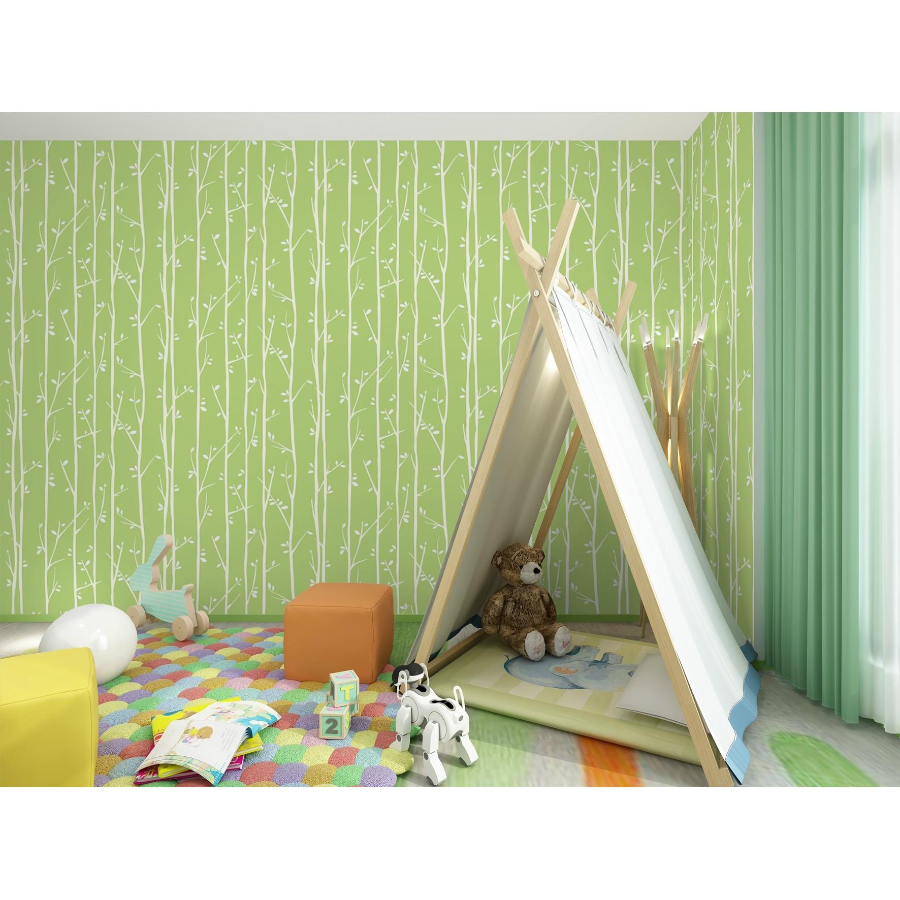 Papel de Parede 53cm x 10m PVC Sublimado Kids 6128 - Jolie