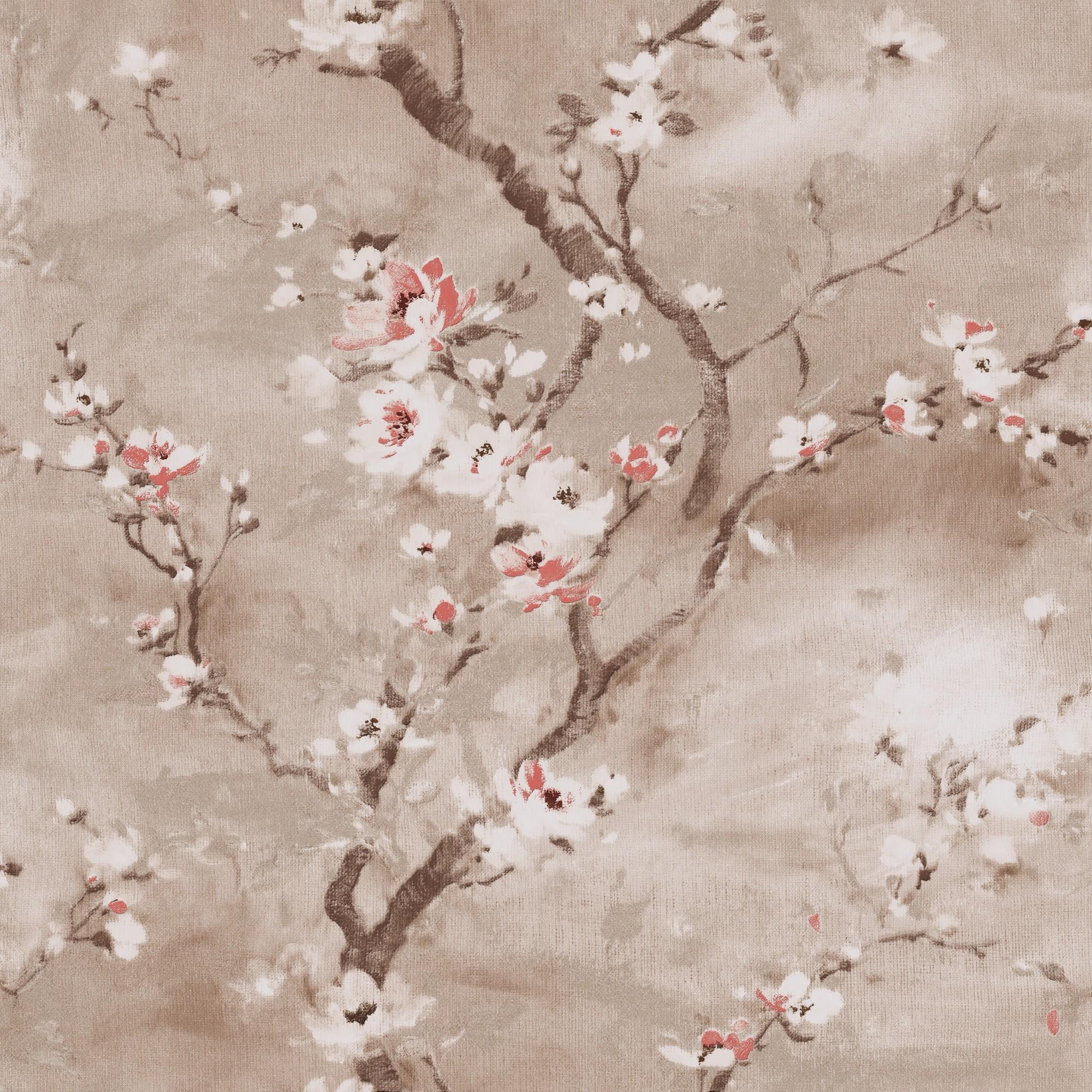 Papel de Parede 53cm x 10m PVC Texturizado Tiffany 7583 - Jolie