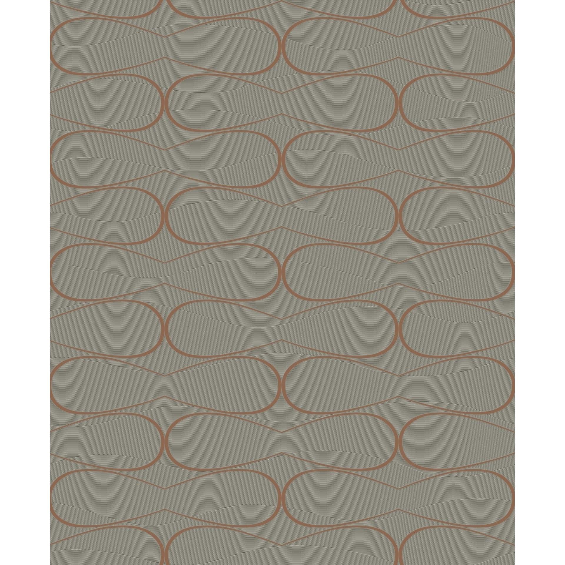 Papel de Parede 53cm x 10m Nonwoven Texturizado Roma 2015 - Jolie
