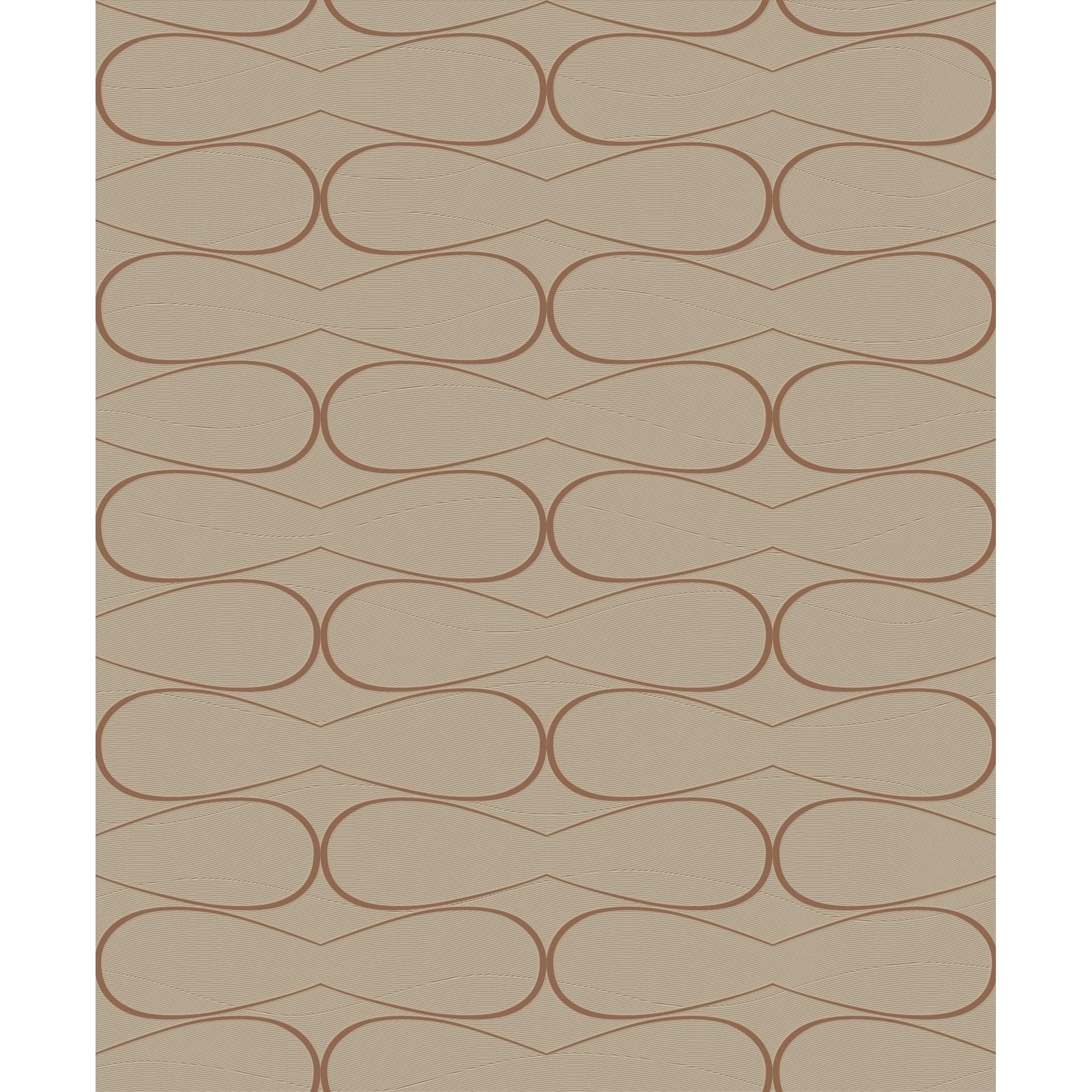 Papel de Parede 53cm x 10m Nonwoven Texturizado Roma 1201 - Jolie