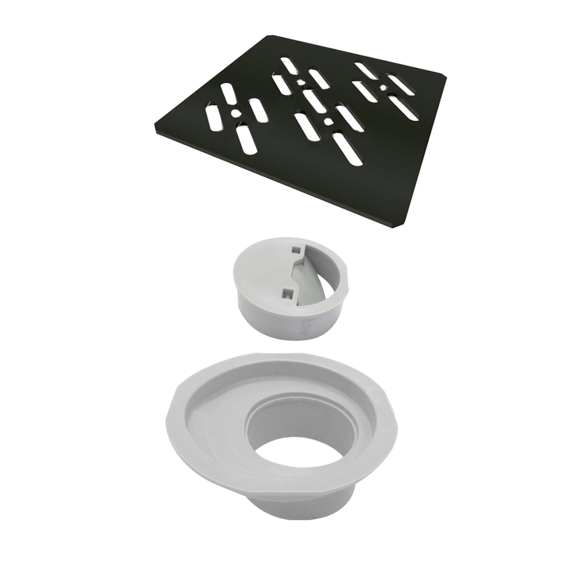 Grelha Para Caixa Sifonada Quadrada 10cm 4022 - Ralo Linear
