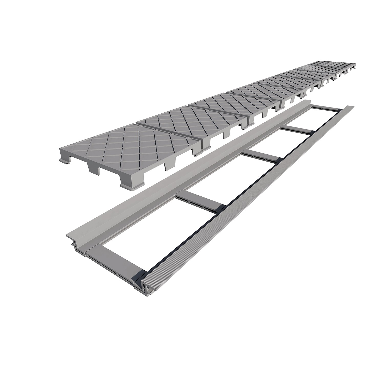 Ralo Infinity Plus Grelha de PVC 130cm - Ralo Linear