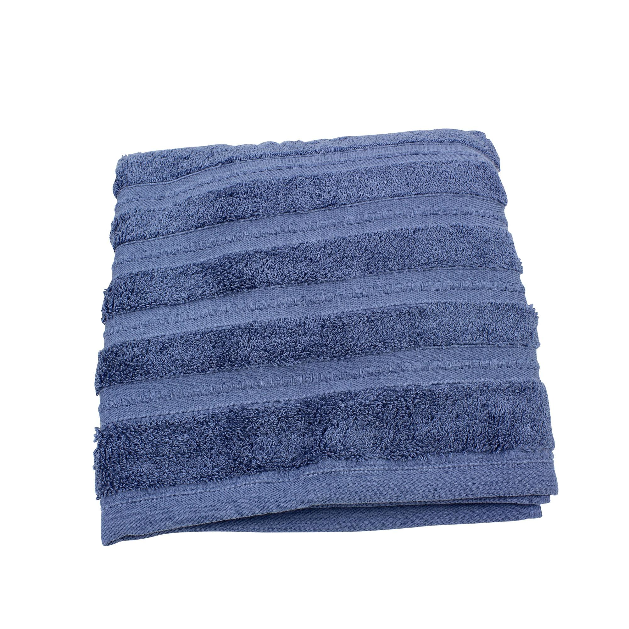 Toalha de Banho Eternity 100 Algodao 80x150 cm Jeans - Coteminas