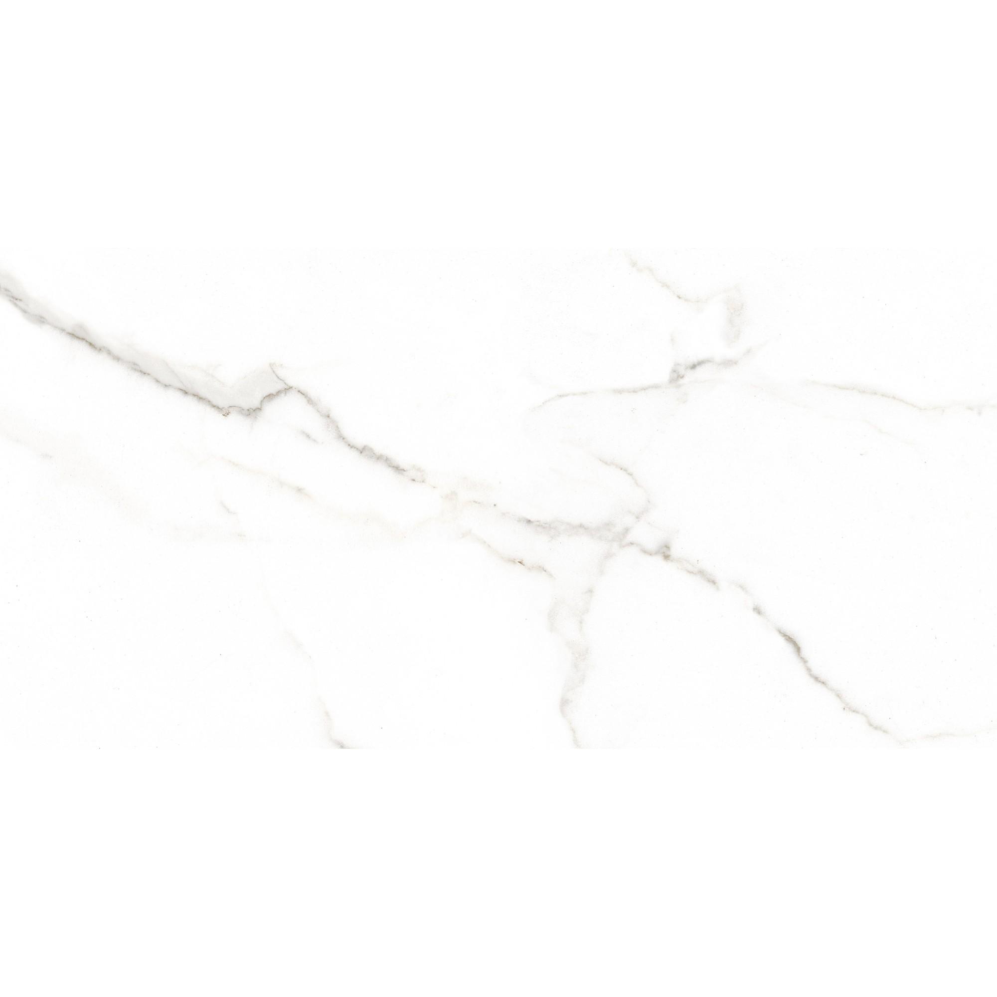 Revestimento Tipo A 38x75 cm Esmaltado Brilhante Selah White 200m - Carmelo Fior