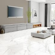 Revestimento Tipo A 38x75 cm Esmaltado Brilhante Selah White 2,00m² - Carmelo Fior