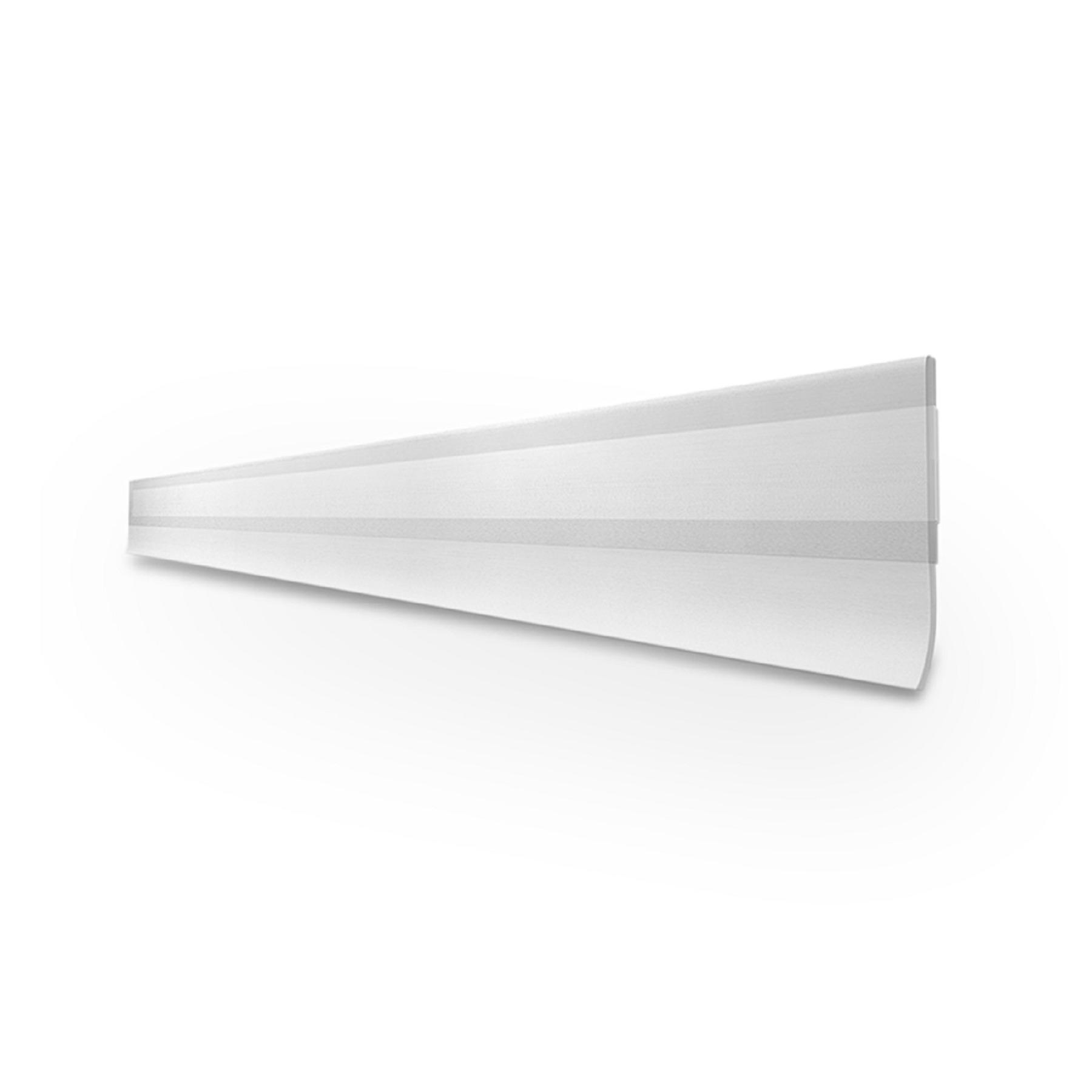Veda Porta Slim Rodo Adesivo de PVC 100cm Transparente 00028 - Comfort Door