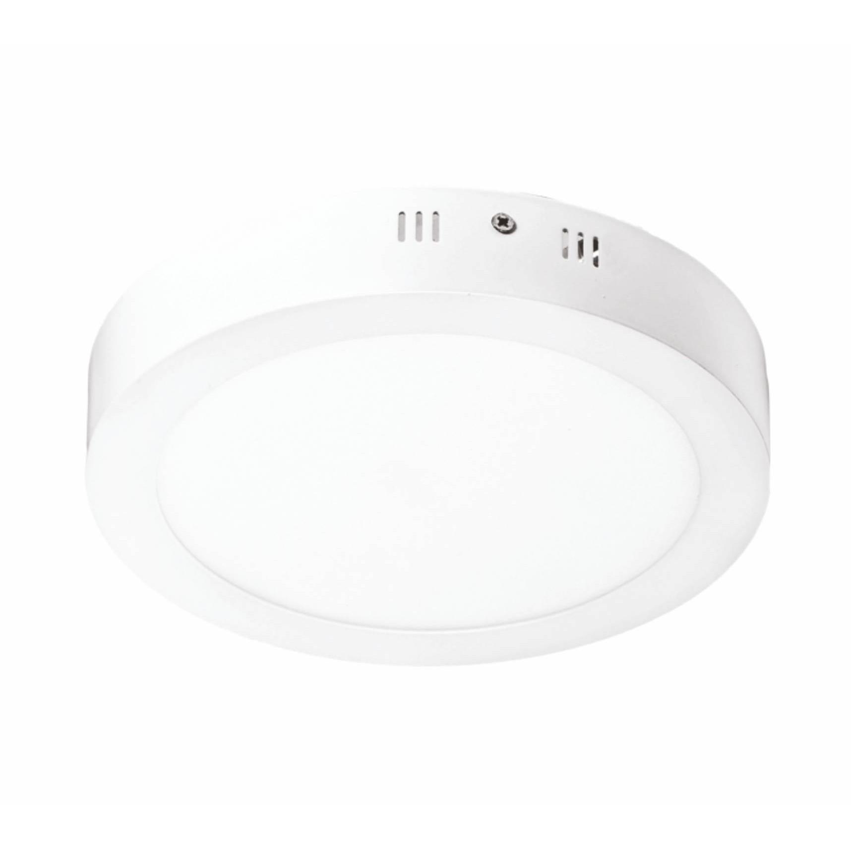 Painel Slim LED Sobrepor Redondo 18W Luz Branca - Glight