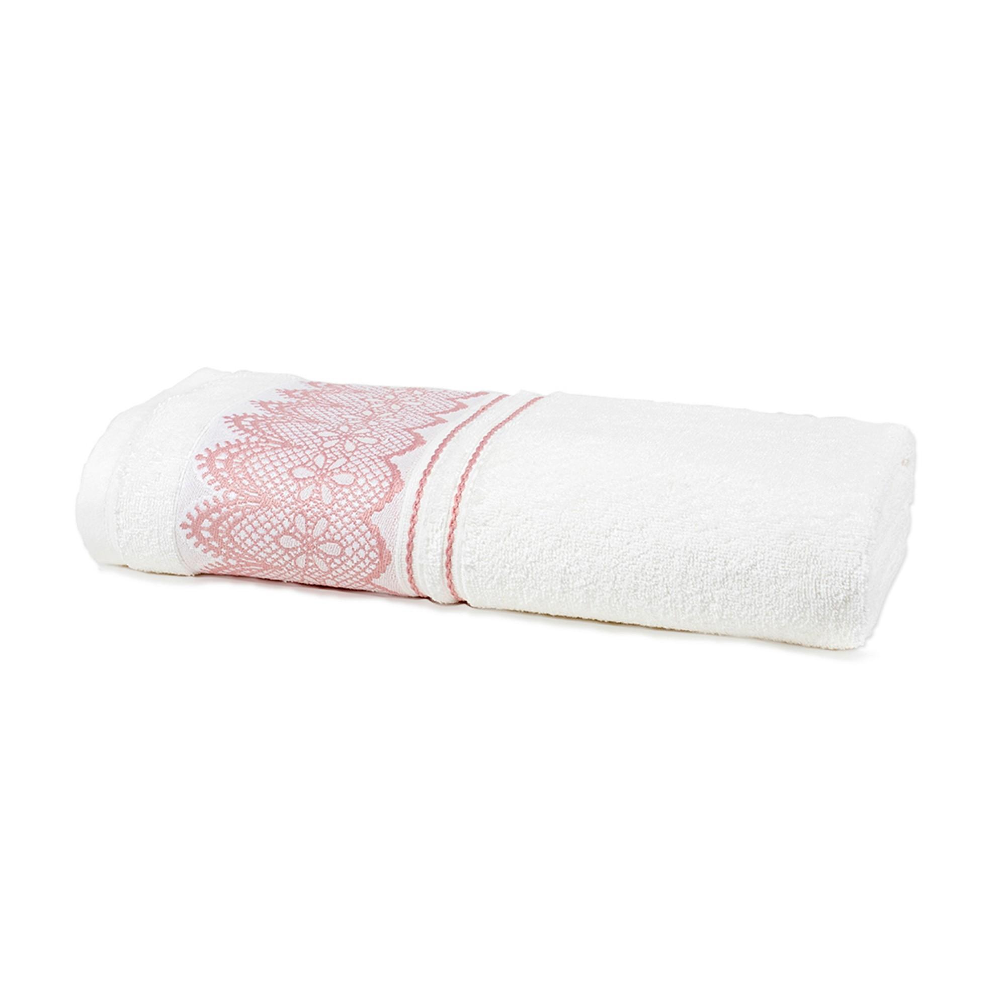 Toalha de Rosto Platinum 100 Algodao 50x70 cm Branco- Santista