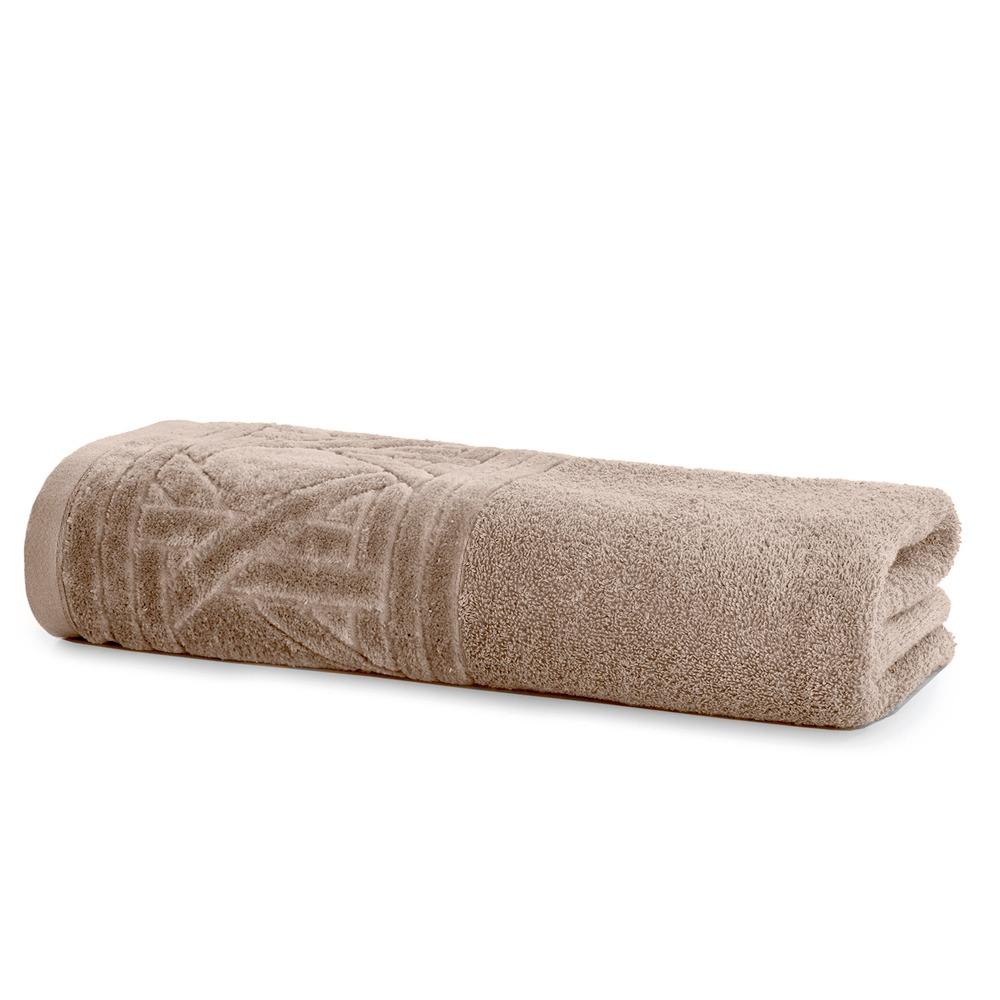 Toalha de Banho Unique 100 Algodao 70x140 cm Cru - Santista