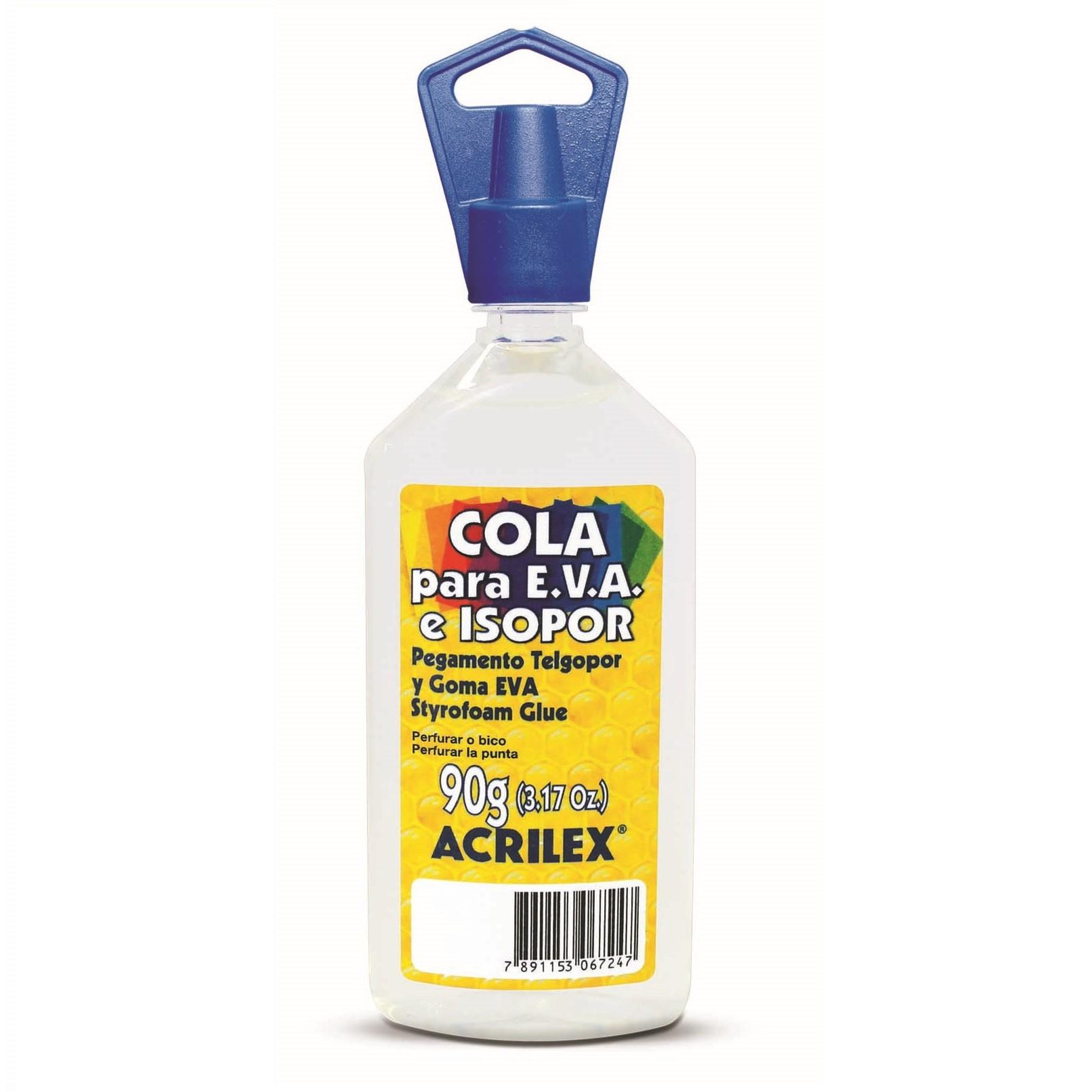 Cola para EVA e Isopor 90g - Acrilex