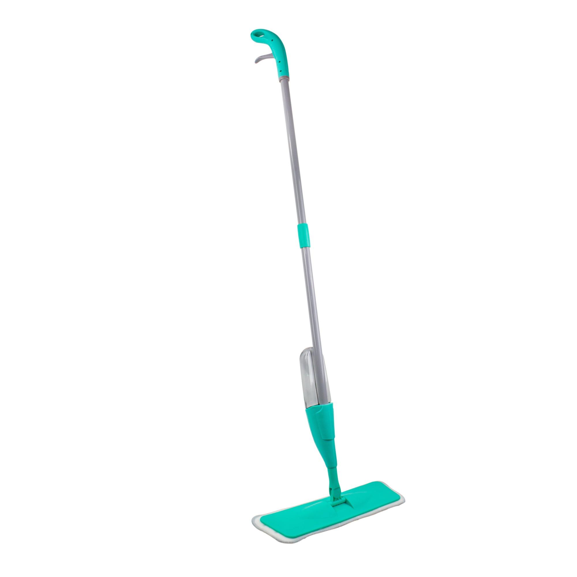 Mop Spray em Microfibra para Po e Agua Cinza - Bianchini