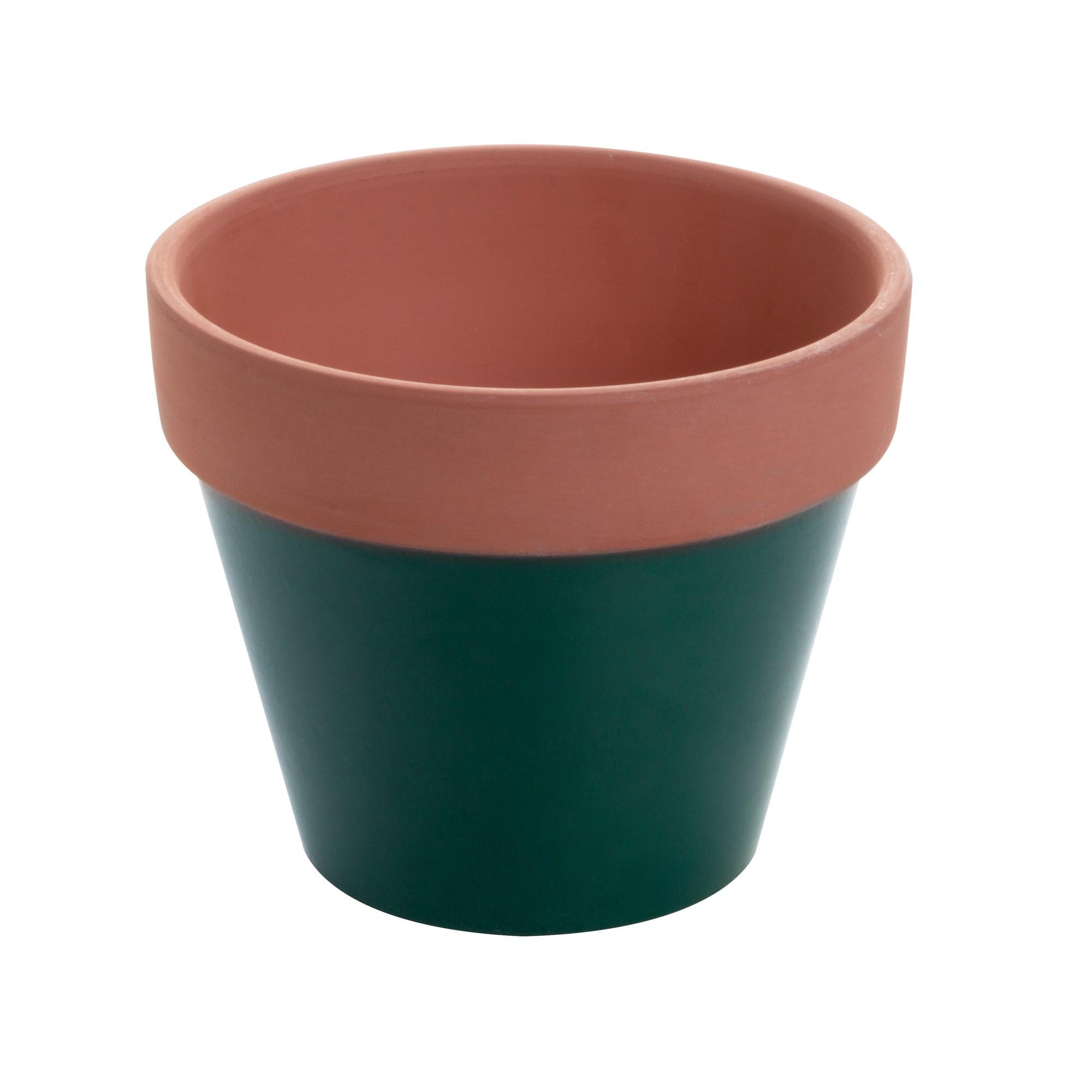 Vaso Decorativo de Concreto Redondo 13 cm - Urban