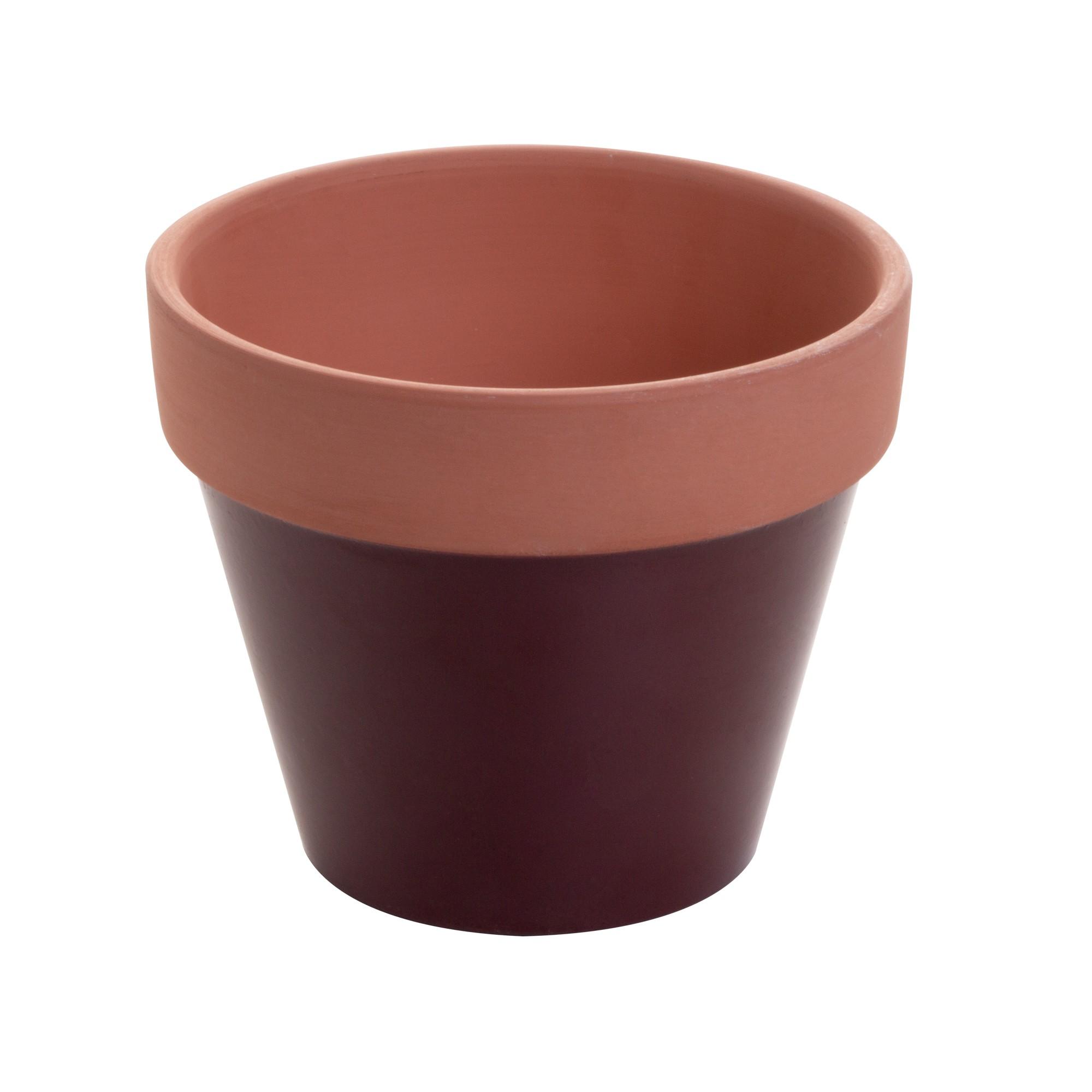 Vaso Decorativo de Ceramica Redondo 12 cm - Urban