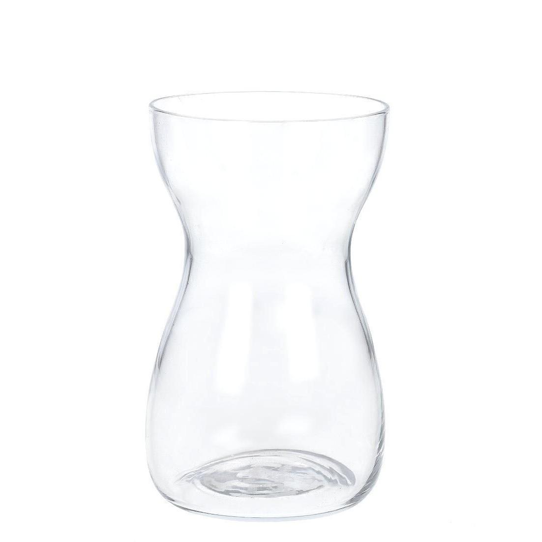 Vaso Decorativo de Vidro 19cm Redondo