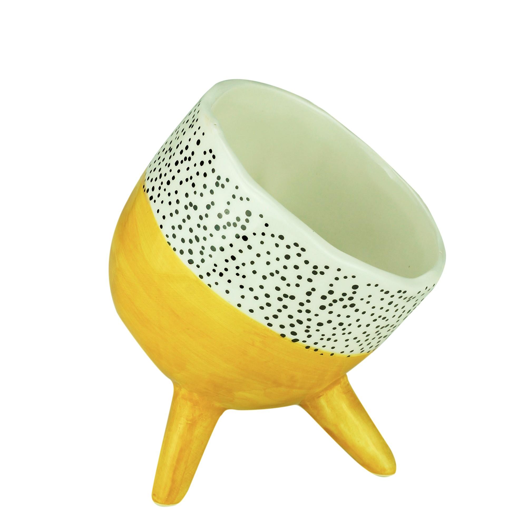 Cachepot de Ceramica Redondo 13cm 44341 - Urban