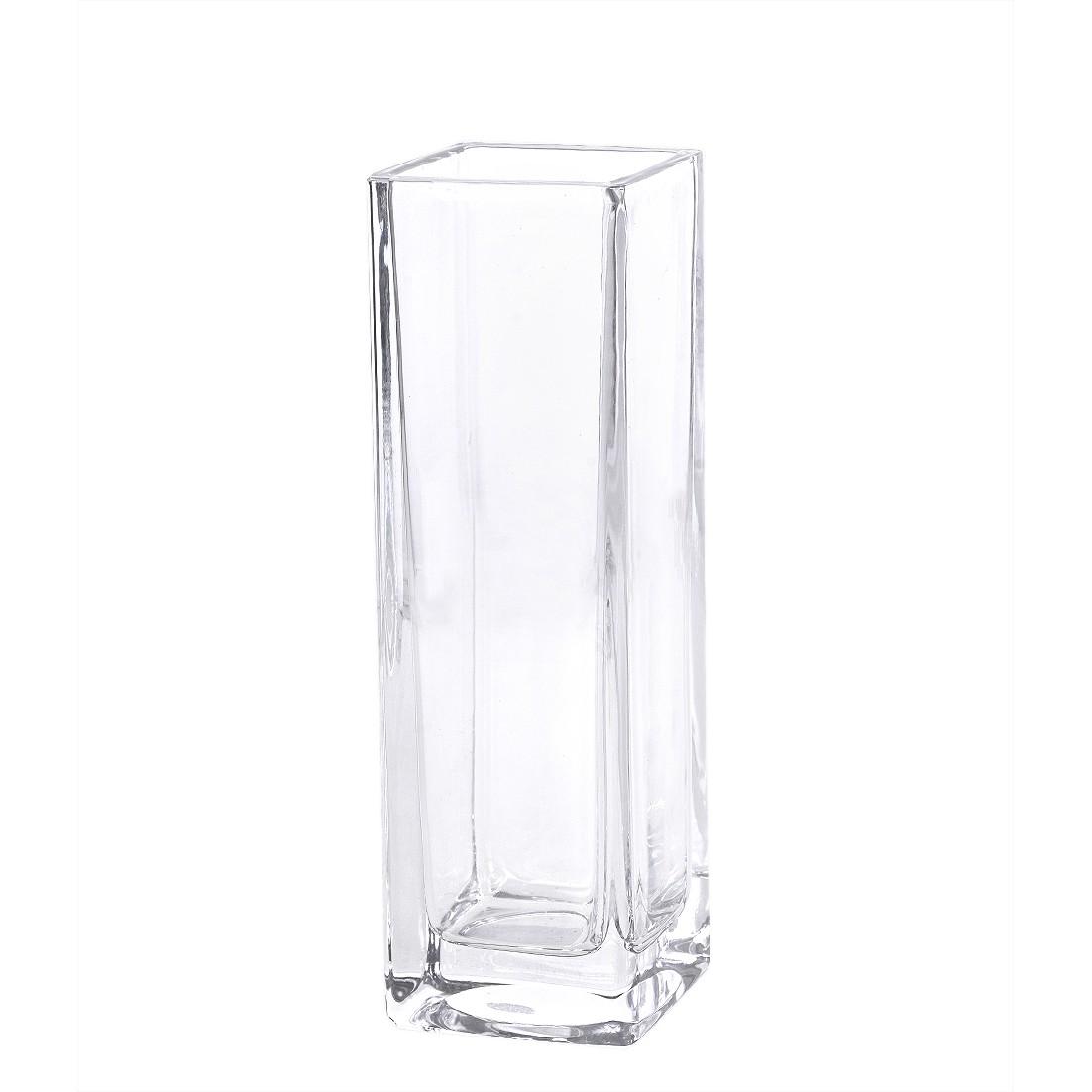 Vaso Decorativo de Vidro Transparente 17 cm