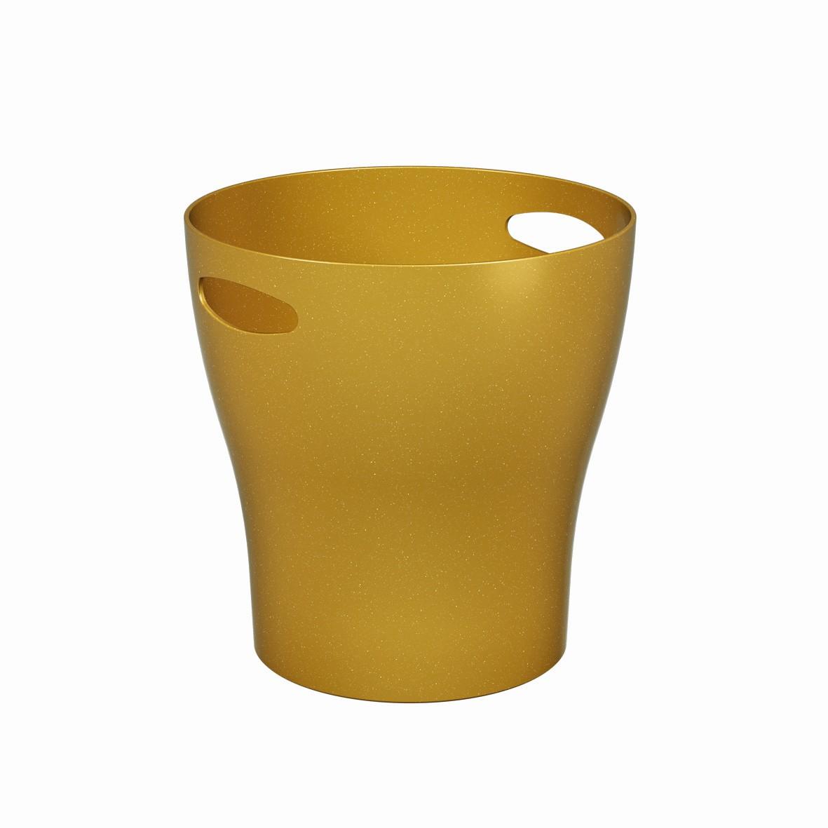 Champanheira de Plastico 7L Dourado Glitter - Coza