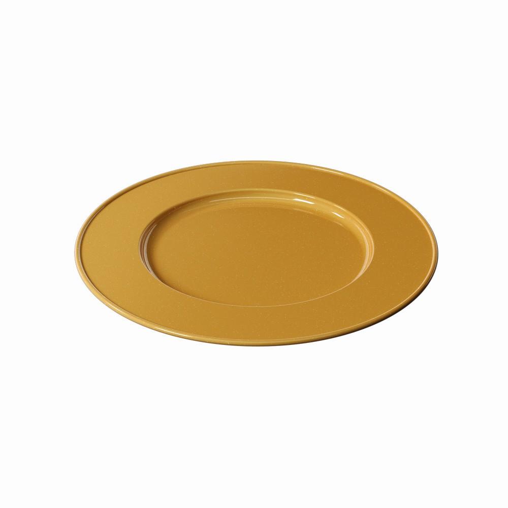 Sousplat Redondo Plastico 315cm Dourado Glitter - Coza
