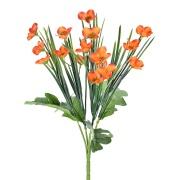 Buquê Artificial Mini Popy Flor 37 cm