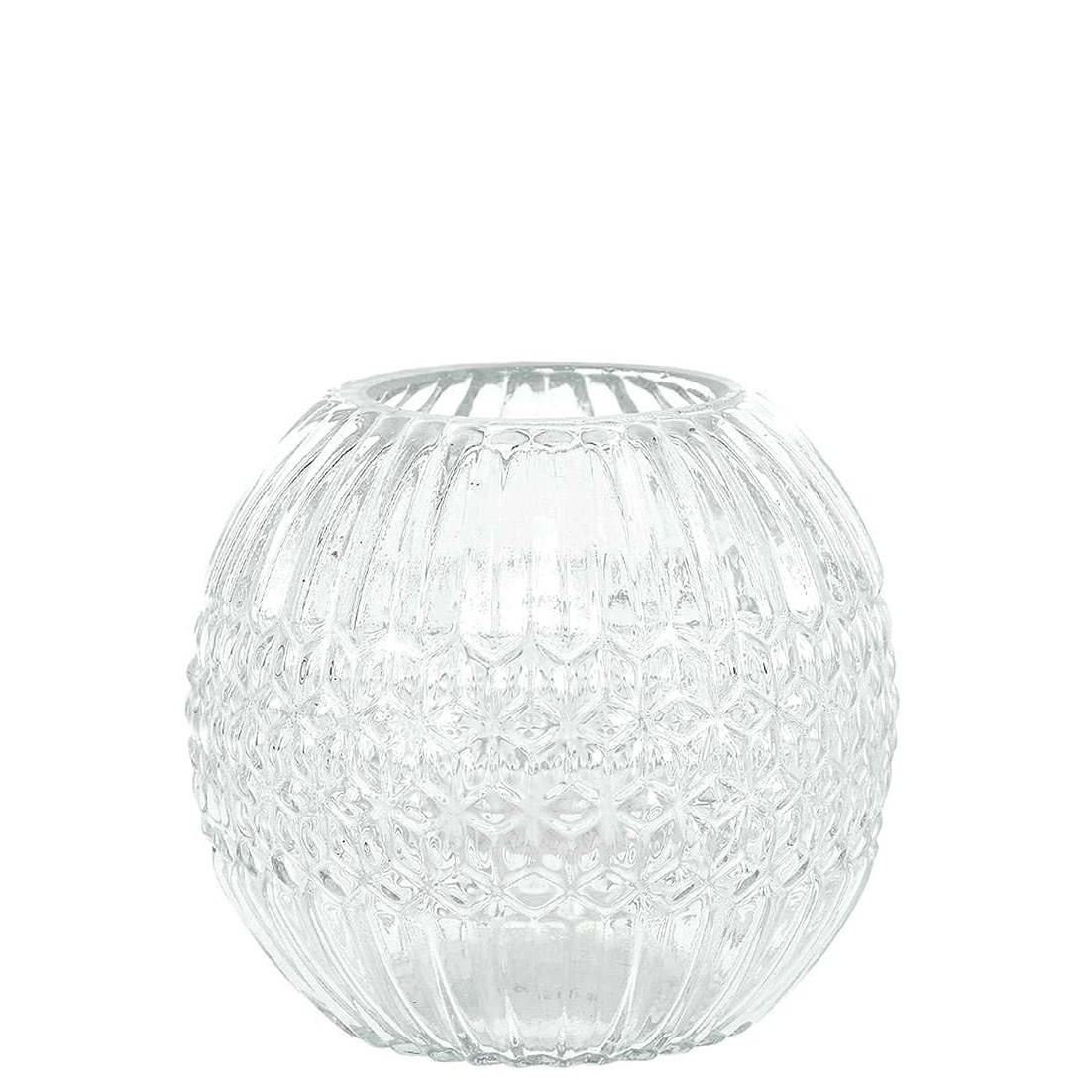 Vaso Decorativo de Vidro 10cm Aquario Transparente