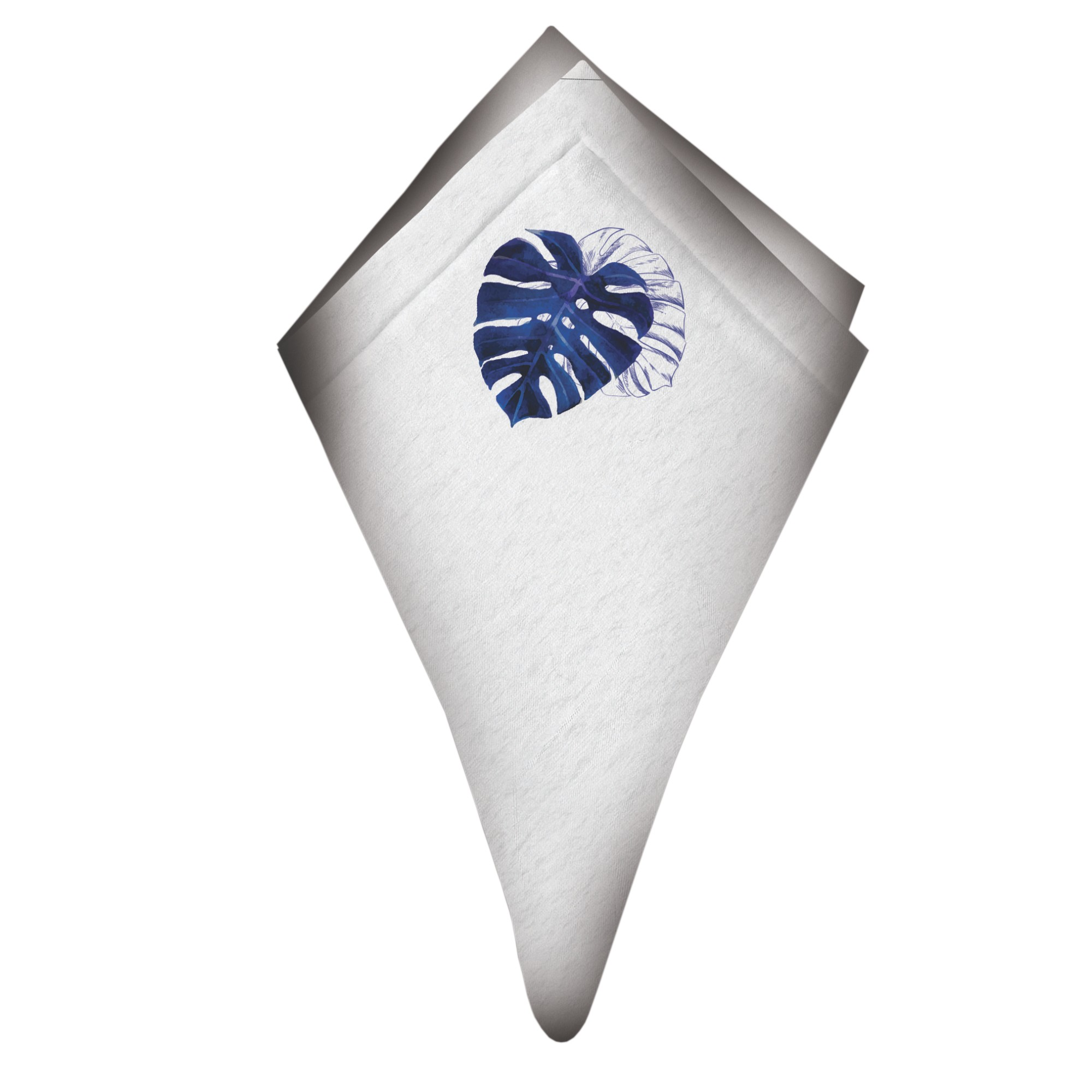 Guardanapo de Tecido Costela de Adao 48x48 cm - Bizarro