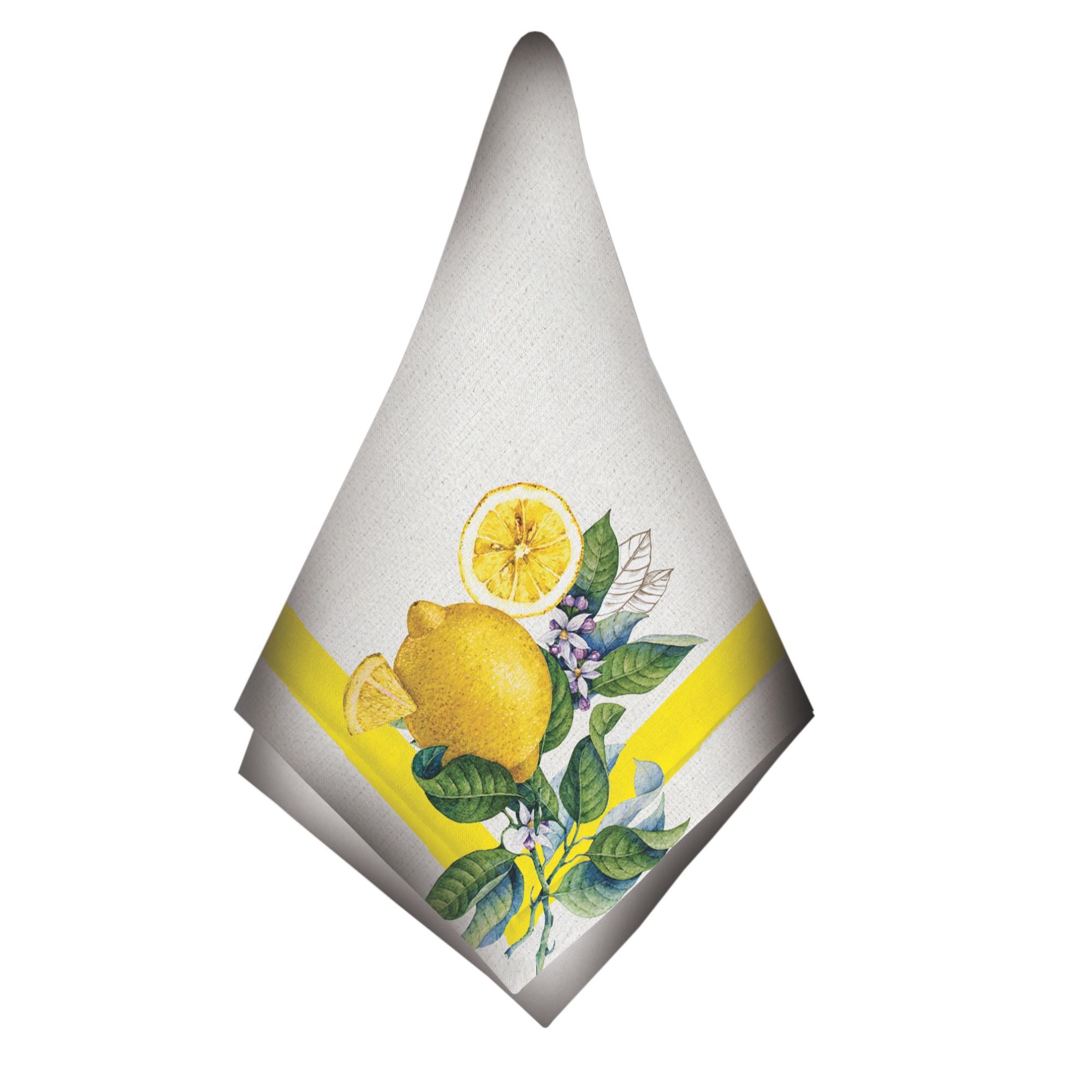 Guardanapo de Tecido Limao 48x48 cm - Bizarro
