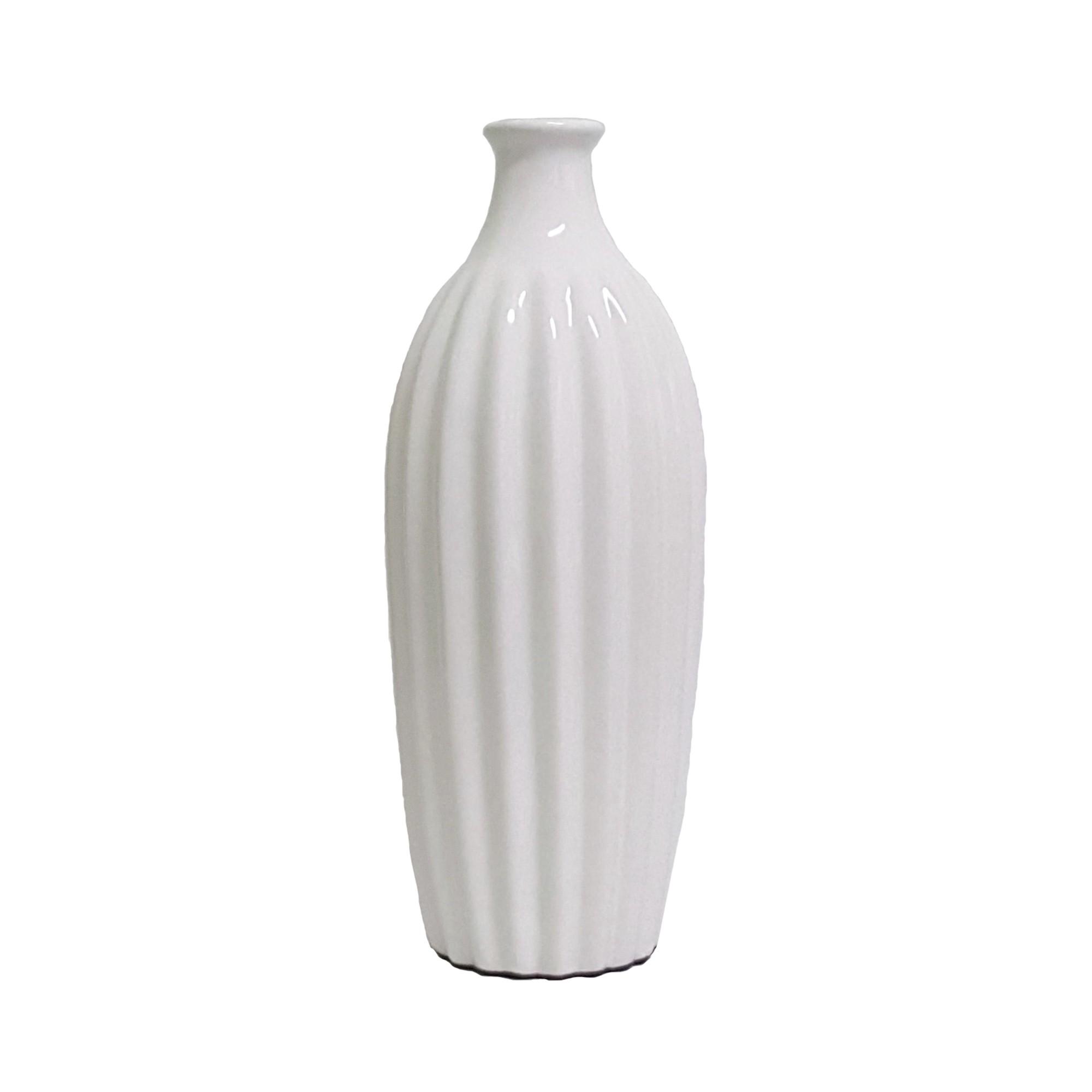 Vaso Decorativo de Ceramica Origami I 245 cm 89881 - Buzzio s
