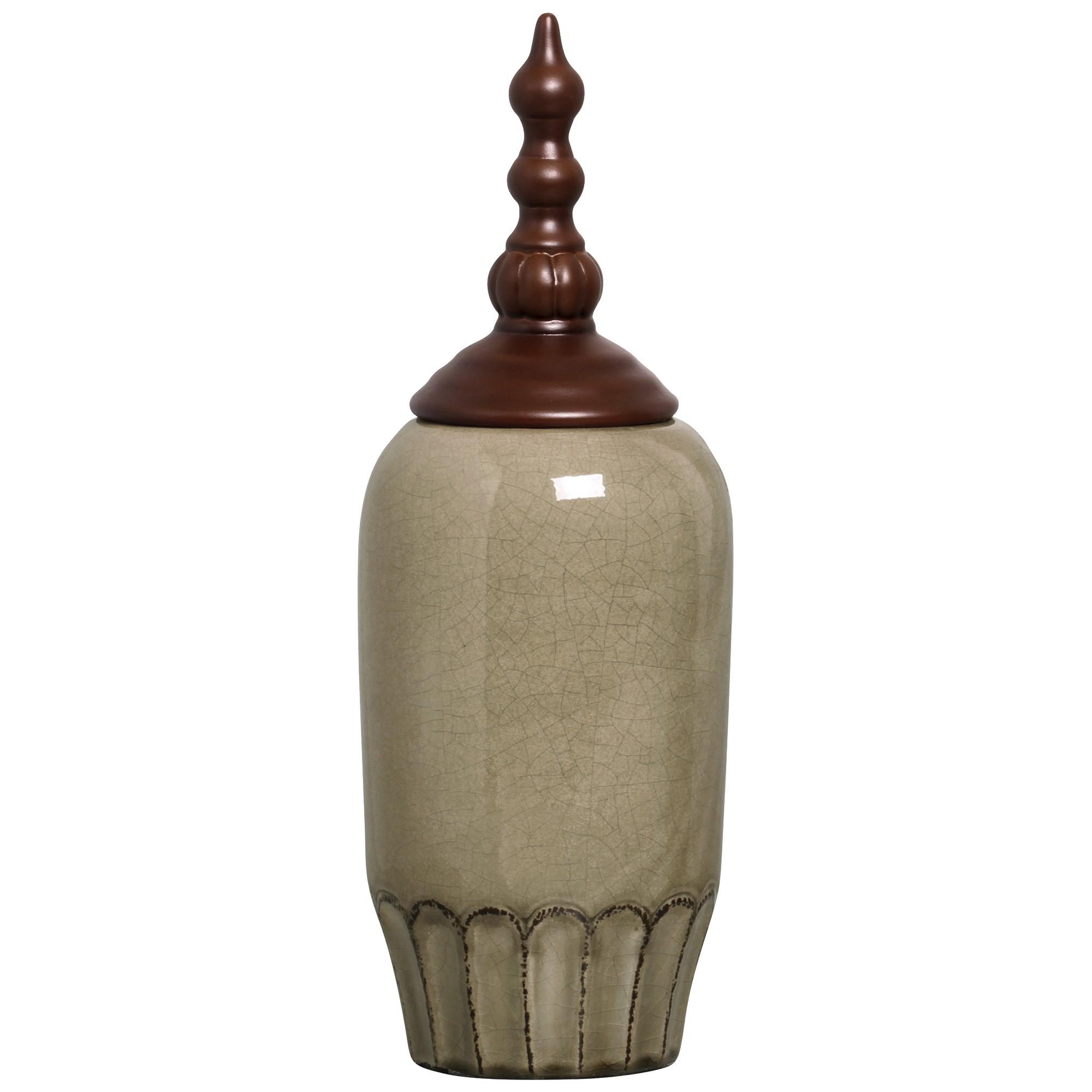 Potiche Decorativo Pote Luna I 43 cm 97629 - Buzzio s
